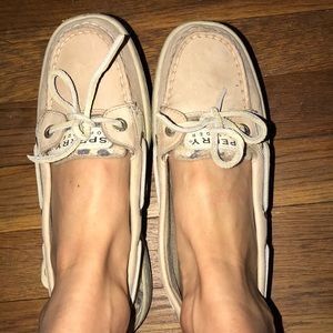 Cheetah sequin sperry boat shoes